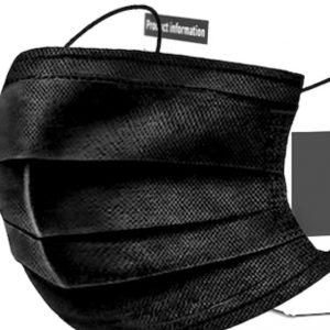 Daily Protection 3Ply Mask Black